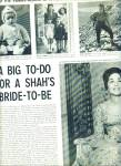 1959 - The Shah of Iran to take 3rd wife