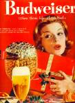 Click here to enlarge image and see more about item Z10250: 1959 - Budweiser beer ad