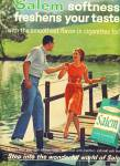 1964 - Salem cigarettes ad DANCING ON THE DOCK