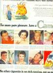 1955 -  Camel cigarettes ad