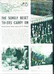1959 -  The Sorely beset 59-ers carry on.