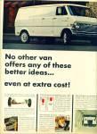 1968 -  Ford Econoline vans ad