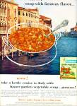 1962 - Knorr garden vegetable soup ad