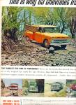 Click here to enlarge image and see more about item Z10595: 1963 - Chevrolet trucks for 1963 ad