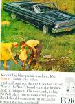 1964 -  Ford convertible ad