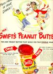 Click here to enlarge image and see more about item Z10612: 1949 - Swift's Peanut butter ad
