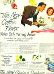 Click here to enlarge image and see more about item Z10614: 1949- Chase & Sanborn coffee ad