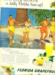 1949- Florida grapefruit ad