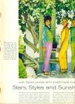 Click here to enlarge image and see more about item Z10662: 1962 -  Stars, styles and sunshine.