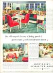 1947 -  Armstrong's linoleum floors ad RETRO DESIGNS