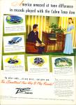 Click here to enlarge image and see more about item Z10686: 1947 - Zenith Radio ad