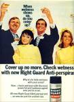1968 = Gillette right guard anti perspirant