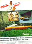 Click here to enlarge image and see more about item Z10705: 1968 -  Dodge Charger for 1969