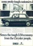 1967 - Chrysler Simca auto ad