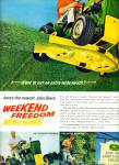 Click here to enlarge image and see more about item Z10739: 1967 - John Deere tractors ad