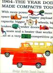 Click here to enlarge image and see more about item Z10763: 1964 -  Dodge Trucks ad
