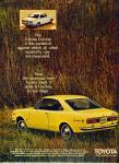 1969 -  Toyota  Corona auto ad