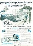 1948 =- Lustertone stainless steel sinks ad