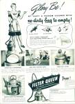 Click here to enlarge image and see more about item Z10801: 1948 -  Filter Queen - bagless vacuum cleaner