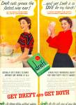 Click here to enlarge image and see more about item Z10876: 1954 -  Dreft soap ad