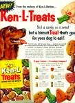 Click here to enlarge image and see more about item Z10909: 1955 - Ken L treats ad