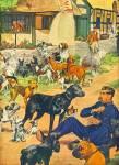 1947 -  Artist sketch - RUDY POTT