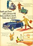 Click here to enlarge image and see more about item Z10922: 1947 -  Ford V-8 auto ad