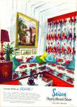Click here to enlarge image and see more about item Z10930: 1948 -  Saison fabrics ad