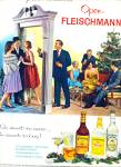 1962 -  Fleischmann's whiskey, gin and vodka