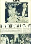 Click here to enlarge image and see more about item Z10939:  1947 -  The Metropolitan Opera opens