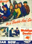 1947 -  Mobilgas  dealer ad