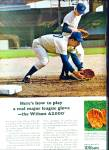 Click here to enlarge image and see more about item Z10956: 1966 -  Wilson sporting goods.