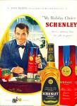 1949 -  Schenley whiskey - TONY MARTIN