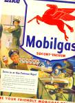 Click to view larger image of 1948 -  Mobilgas Socony-Vacuum ad (Image2)