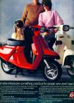 Click here to enlarge image and see more about item Z11028: 1983 - Riva motor bikes fromHonda