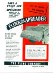 The Flink Company Spreader ad 1946