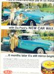 Click here to enlarge image and see more about item Z11080: 1950 - Dupont new car wax ad