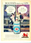 1960 - Booth's distilled london dry gin ad