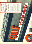 Click here to enlarge image and see more about item Z11107: 1950 -  Gulf power crest battery ad