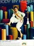 Click here to enlarge image and see more about item Z11129: 1967 =  Fisher Body ad FASHION MODEL