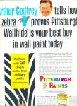 Click here to enlarge image and see more about item Z1114: Pittsburgh Paints - ARTHUR GODFREY  ad 1965