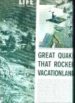 Click here to enlarge image and see more about item Z11151: 1959 -  Great quake that rocked vacationland
