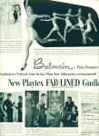 Click here to enlarge image and see more about item Z11157: 1950 -  Playtex fab lined girdle ad