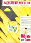 1950 - Niblets Green giant sweet corn ad