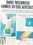 Click here to enlarge image and see more about item Z1117: Dove soap for dishes ad 1965