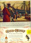 Click here to enlarge image and see more about item Z11202: 1953 -  Old Crow bourbon whiskey ad