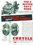 1949 -  Chrysler Industrial engines ad