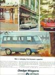Click here to enlarge image and see more about item Z11256: 1964 -  Dodge Wagons ad