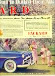 1952 -  Packard motor car ad