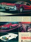 Click here to enlarge image and see more about item Z11299: 1965 -  Toronado Oldsmobile for 1966